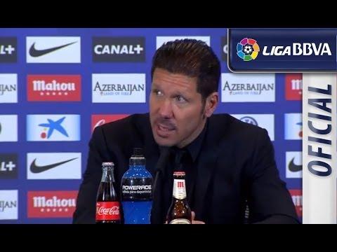 Rueda de Prensa | Press Conference de Simeone tras el Atlético de Madrid (1-0) Granada CF - HD