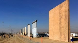 Trump to visit border wall prototypes in California