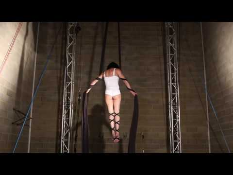 Aerial silk solo act 0149 by Paruvintov Production