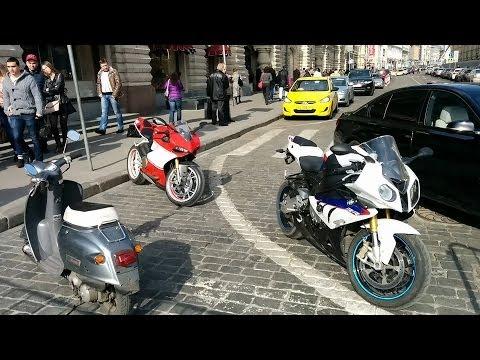 Ducati 1199 S Panigale vs BMW S1000RR: wow-эффект