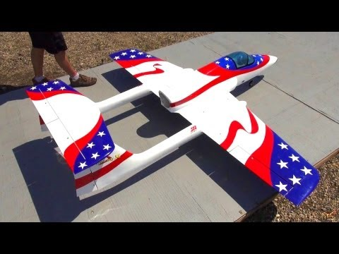 RC ADVENTURES - HUGE RC STUNT JET