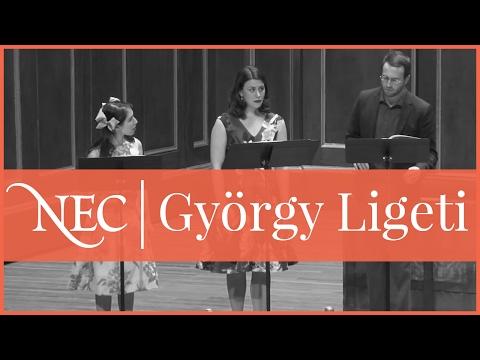 "NEC Contemporary Ensemble: Ligeti ""Aventures"""