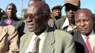 Sabaot elders want a peace pact signed with Bukusu and Teso communities in 2011 reviewed