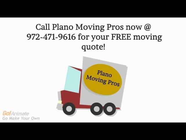 House Movers Plano | Call 972-471-9616 For Affordable Local Moving