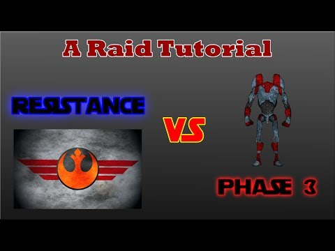 Resistance in Phase 3 of hAAT- A Raid Tutorial