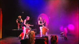 Circle Percussion - Drums of the World 4 - part 4/6 - Vilster Shuffle