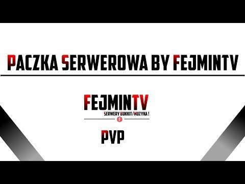 Pliki Serwerowe Minecraft Bukkit 1.7.5 by FejminTV [PVP]