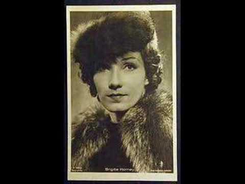Brigitte Horney - So oder so ist das Leben (Mackeben) 1934