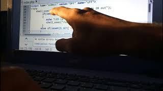 Wifi Controlled LED using Raspberry Pi