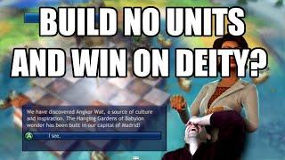 Civilization Revolution - Build No Units And Win On Deity - 1730 AD Economic Victory