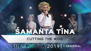 "Samanta Tīna ""Cutting the wire"""