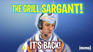 THE GRILL SARGANT IS BACK - Fortnite Funny Epic Fails and Wins Episode 400