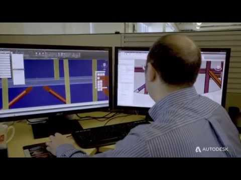 BIM to Fabrication with Revit and Advance Steel