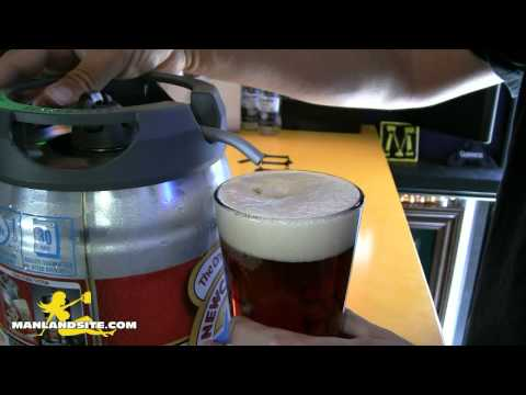 Newcastle Brown Ale Draught Mini Keg Review in HD!
