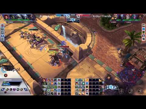 Team Puszek vs Team Alternate - Sky Temple - Bohaterskie Wyzwanie #2 EmSc2Tv