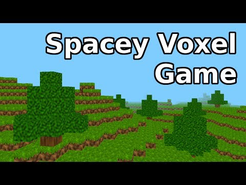 Spacey Voxel Game Update! Completely new engine!
