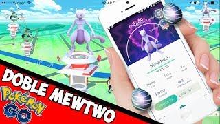 DOBLE INCURSION de MEWTWO Pokémon GO- Incursiones Legendarias