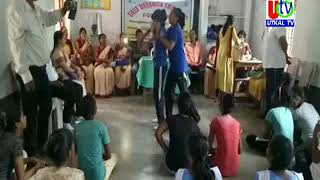 13 09 2019  UTv News Self Difence Traning Camp for Girl's Student  at National High School, Dura