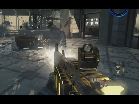 Modern Warfare 3 GOLDEN GUN Gameplay! - New