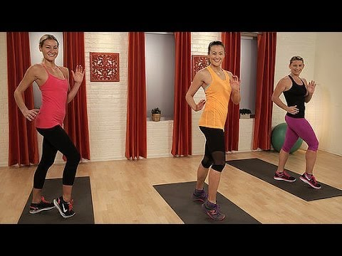 At-home Cardio Sweat Workout - No Running Required! | Class Fitsugar video
