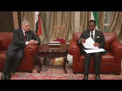 Guinée Equatoriale, Visite du Premier ministre égyptien Ibrahim Mahlab