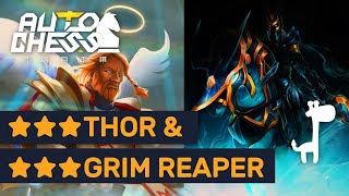 ★★★ THOR & ★★★ GRIM REAPER!! Dota Auto Chess Most Epic ★★★ Skins!