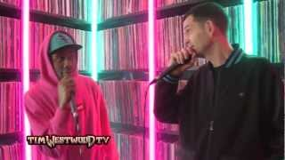 Tyler, The Creator Video - Westwood Crib Sessions - Tyler The Creator freestyle & slaps!