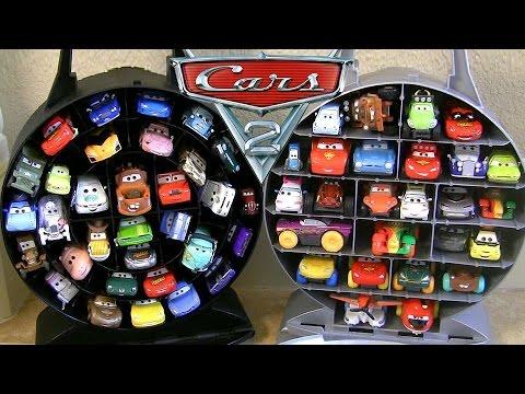 NEW Pixar Cars Garage Storage Carry Case Stores 33 Cars - Disney Planes Fire & Rescue 2014