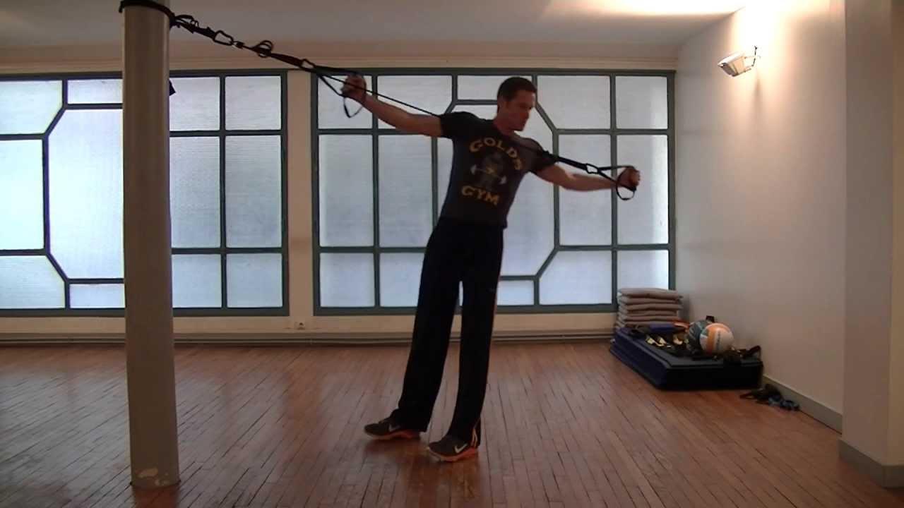 musculation dos entra nement fonctionnelle sangle xt suspension trainer coaching. Black Bedroom Furniture Sets. Home Design Ideas