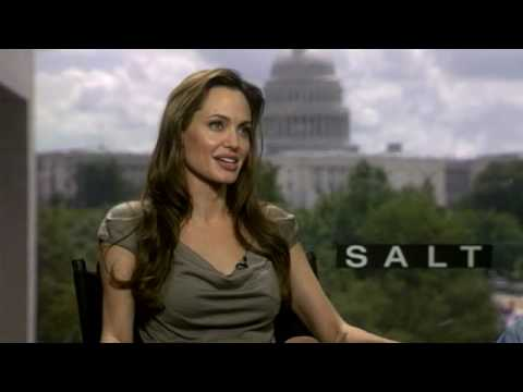 SALT interview - Angelina Jolie talks kids, stunts and Brad Pitt!