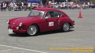 【 Classic Car Gymkhana 】 A-02 Alpine A106 【 51th SHCC Meeting at Oiso Long Beach 】
