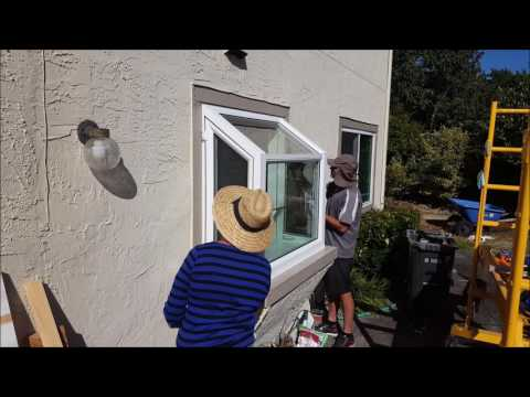 Installing a new Garden Window