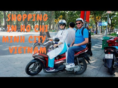 Shopping in Ho Chi Minh City - Vietnam