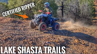 Can Am RENEGADE Xxc 850 Lake Shasta Trails - Day 1