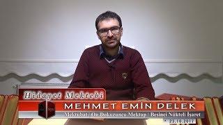 Mehmet Emin Delek - Mektubat - On Dokuzuncu Mektup - Beşinci Nükteli İşaret