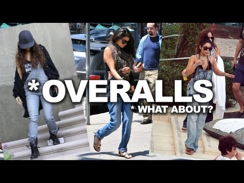 Celebrity Overall Style - Selena Gomez, Perrie Edwards, Vanessa Hudgens thumbnail