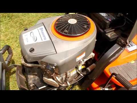 Copy of Husqvarna Yard Tractor YTH22V46XLS Surging Engine Fix and 181 Hour Review