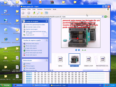 Gravador de BIOS TL866