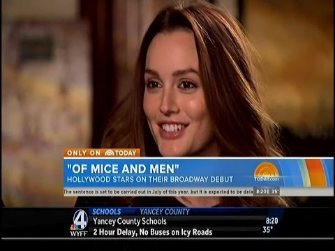 Part 1 Leighton Meester, James Franco & Chris O' Dowd on The Today Show - 3/17/14