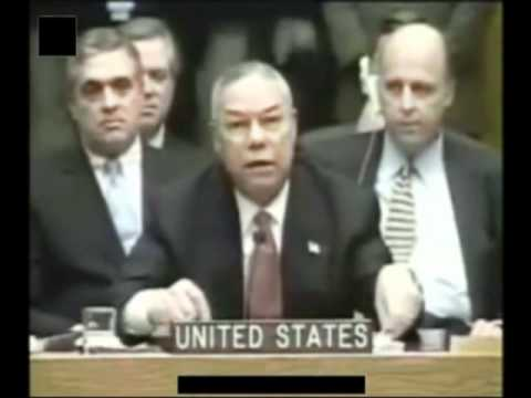 General Colin Powell UN Speech on Iraq Part 1of5