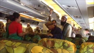 Biman Bangladesh Airlines (inside airplane)