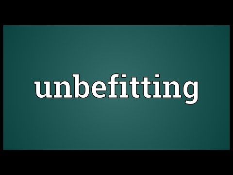 Header of unbefitting