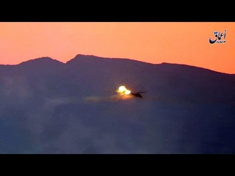 Dos pilotos rusos mueren en Siria al ser derribado su helicóptero por el Dáehs