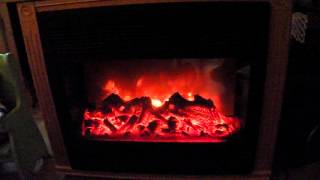 Heat Surge Electric Fireplace.