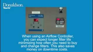 Airflow Controller with VFD - Benefits