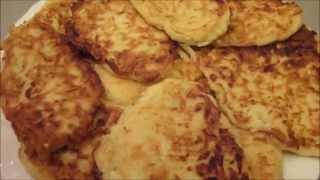 Оладьи из кабачков (идеальный рецепт!)