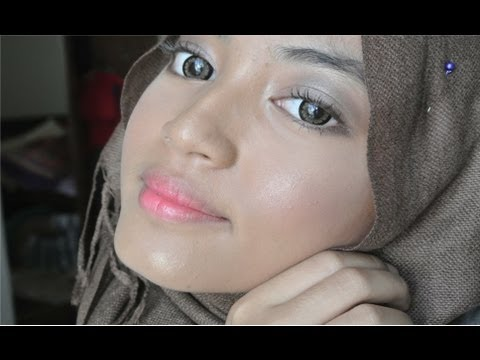 Simple makeup for Malay skin ^_^ Sweet and natural
