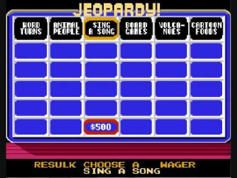 Let's Play Jeopardy! Junior 24 - Animal people sing a song... Don't they?