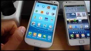 Samsung Galaxy S3 vs S2 Battery Compared