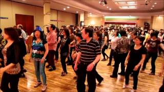 Come Dance With Me ~ Jo Thompson - Line Dance @ 2014 Pooh's Charity BD Party
